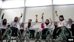 آرشیف، تیم بسکتبال ویلچر زنان کابل