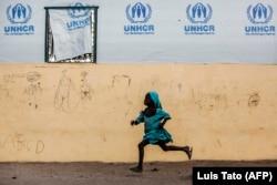 Лагерь беженцев в Нигерии. Февраль 2020 года