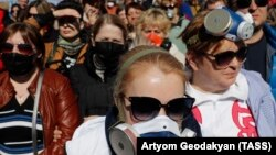 Protesters who demonstrated against a leaky landfill near Volokolamsk, Russia, surprised authorities with the strength of their demonstrations.