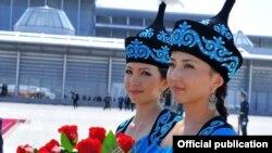 Встреча лидеров стран-участниц саммита ШОС, Бишкек, 12 сентября 2013 года.