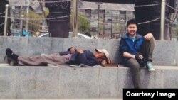 Руслан Токочев Непалдын Катманду шаарында, 20-апрель, 2014.