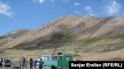 Чоң-Алайдагы Карамык өткөрүү пункту, 28-август, 2012-жыл.