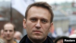 Russian opposition activist Aleksei Navalny (file photo)