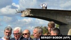Евробиримдик өкүлдөрү Донецкиде.
