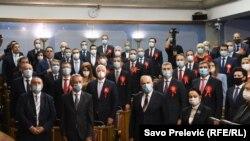 Prva sjednica novog crnogorskog parlamenta