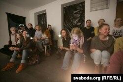 Гледачы «Балотнай плошчы» ў Менску