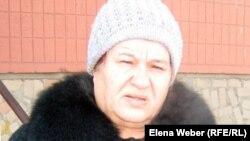 Людмила Анпилогова, жительница пятиэтажки в поселке Актау.