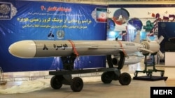 The Hoveizeh 8 cruise missile was said to be made entirely in Iran.