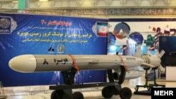 Hoveizeh 8 cruise missile, made in Iran. File Photo