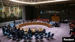 Pamje nga një takim i Këshillit të Sigurimit të Kombeve të Bashkuara