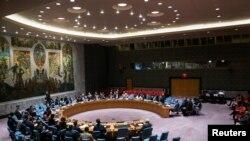 مجلس الامن الدولي في احدى جلساته الحديثة