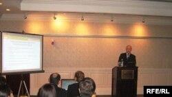 საერთაშორისო სავალუტო ფონდის მოხსენების პრეზენტაცია თბილისში