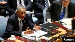 أوباما يترأس اجتماع مجلس الأمن الدولي - 24 أيلول 2014