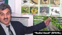 Сангин Қурбонов, экологи тоҷик