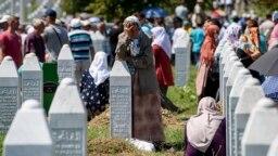 Memorijalni centar Potočari, Srebrenica, 11. jul 2017.