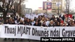 Всесвітній марш марш, Косово, 21 січня 2017 року