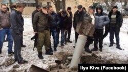 Обстріл Краматорська, 10 лютого 2015 року (фото з Facebook Ilya Kiva)