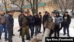 Краматорск после обстрела. Украина, 10 февраля 2015 года.