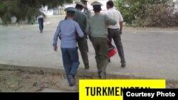 Amnesty International guramasynyň Türkmenistan barada hasabatynyň baş sahypasy, 2013