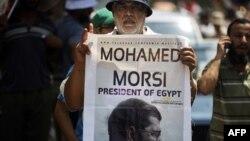 Протест на поддржувачите на Морси во Египет.