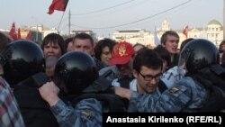 Москва. Болотная площадь. 6 мая 2012 года