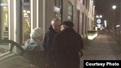 Михаил Ходорковский встречается со своими родными.