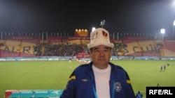 Кыргыстандын футбол федерациясынын вице-президенти Аскар Салымбеков Пекин олимпиадасында