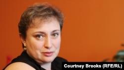 Олена Ґольцман в Нью-Йорку, листопад 2012 року