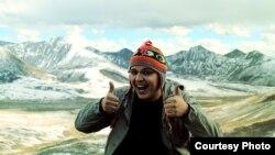 Арсений Кнайфель во время поездки в Тибет