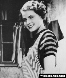 "Ingrid Bergman-ıni 19 yaşında çəkildiyi ilk filmi ""Munkbrogreven"" (1935)"