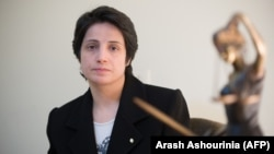 Human rights lawyer Nasrin Sotoudeh photographed in Tehran in 2008