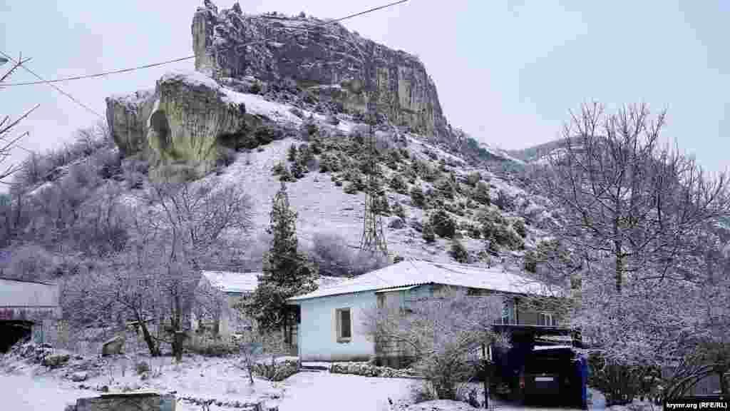 Зимний Бахчисарай и его окраины, 23 января 2017 года