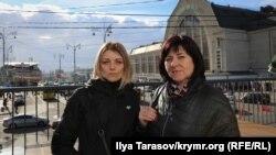 Юлія Шиптур і Оксана Захтей