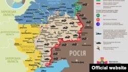 Ситуація в зоні бойових дій на Донбасі, 31 серпня 2015 року