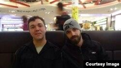 المقاتلان جيمي ريد وبوك كلاي في براغ، 20 شباط 2015