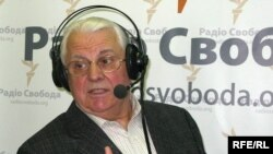 Один із авторів спільної заяви президентів Леонід Кравчук у студії Радіо Свобода