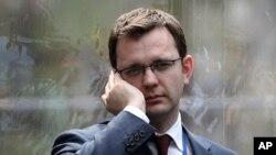 Энди Коулсон, бывший пресс-секретарь премьер-министра Великобритании Дэвида Кэмерона.