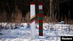 Litva-Rusiya sərhədi