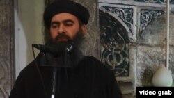 İslam Dövləti (İD) silahlı qruplaşmasının lideri Abu Bakr al-Baghdadi