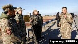 Капелани на адміністративному кордоні з Кримом