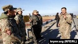 Капелланы на админгранице с Крымом
