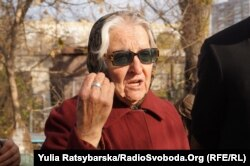 Марія Зосименко-Бонацька, письмениця, зв'язкова УПА. Дніпро, Клочківський цвинтар, 14 листопада 2017 року