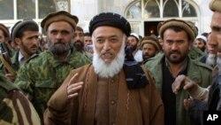 Поранешниот авганистански претседател Бурханудин Рабани.