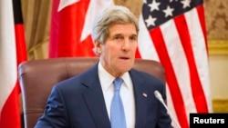 АҚШ мемлекеттік хатшысы Джон Керри. Эр-Рияд, 5 наурыз 2015 жыл.