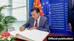 Зоран Заев, нахуствазири Македония.