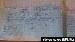 Салиевдин өзүнүн тил каты