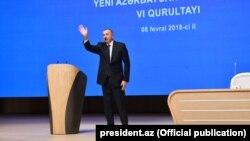 YAP İlham Əliyevin prezidentliyə namizədliyini irəli sürüb