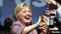 Хиллари Клинтон, бывший госсекретарь США, претендент в кандидаты на пост президента США.