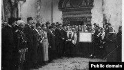 Первый курултай крымскотатарского народа. 1917 год. Архив автора