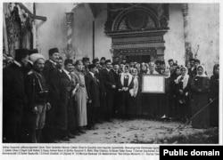 Перший Курултай кримськотатарського народу. Листопад 1917 року